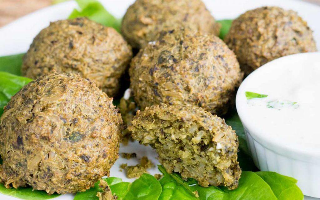 Polpette proteiche di spinaci ricetta